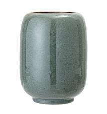 Vase Stone Green Ø14x18 cm
