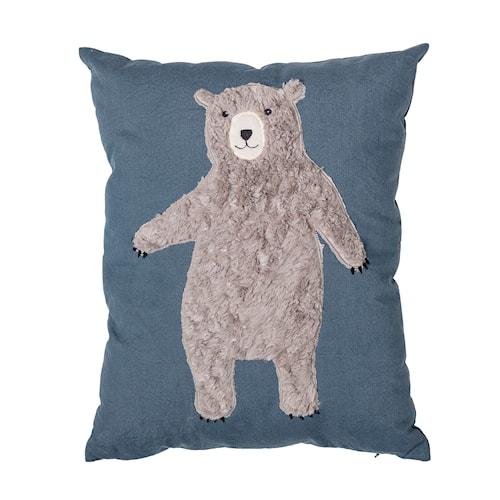 Kudde Bear - Blå