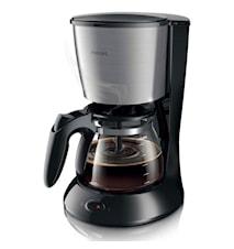Philips Kaffebryggare Svart/metall
