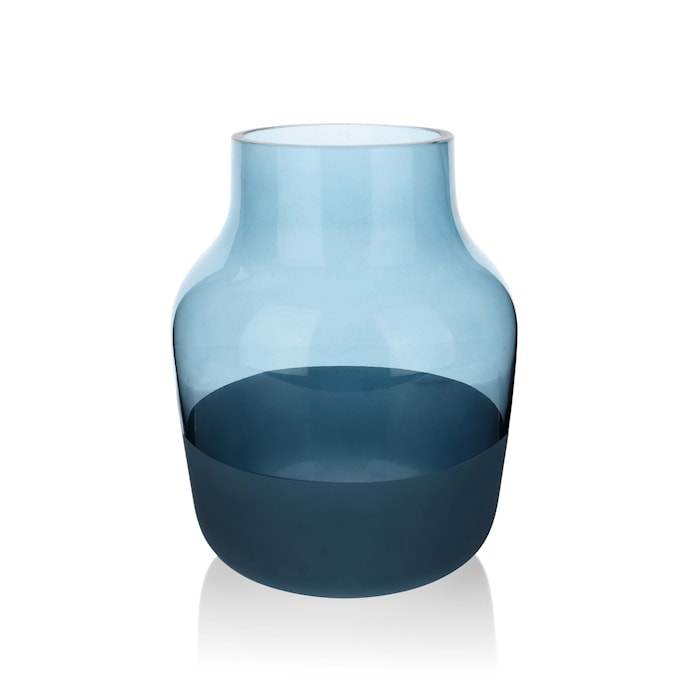 Medium Vase 19 cm Blå