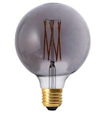 Elect LED Filament Globe Smoke 125mm