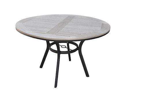 Alfa Spisebord ø120 cm - Sort