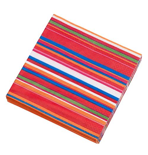 Origo Pappperserviet 20-pak 33x33 cm orange