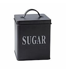 Oppbevaringsboks Sugar Metall 14x11,5 cm