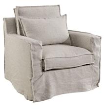 NEW MILFORD Armchair Linen Sand