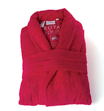 Morgonrock Royal Touch Bright Red XL