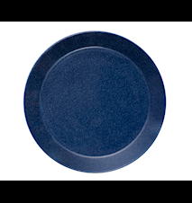 Teema tallrik 26 cm melerad blå