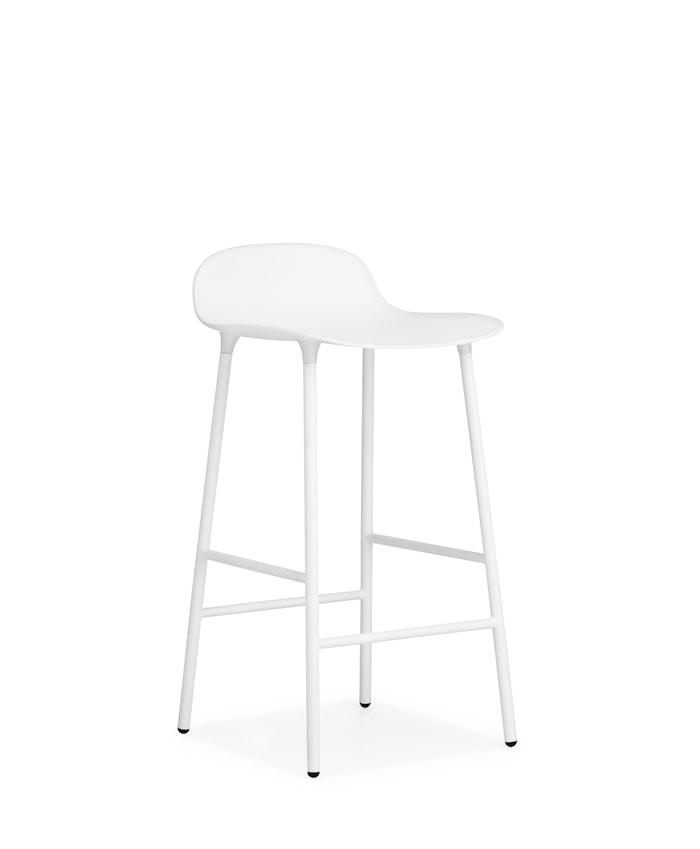 Form Barstol Hvid 65 cm