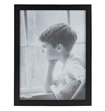 Ramme Svart/Glass 30x40 cm