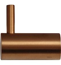 Steel Style Enkelkrok Amber i rostfritt stål.