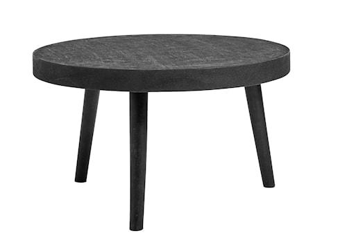 Concrete wood sofabord