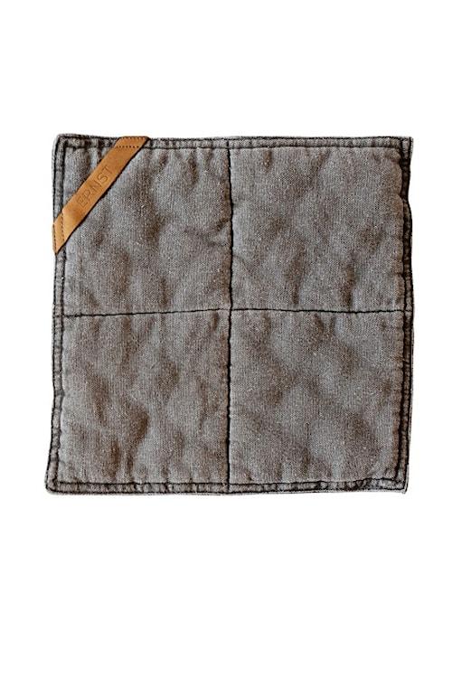 Grytlapp , 25x25 cm, grå