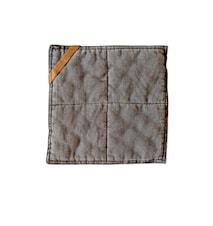 Grytelapp, 25x25 cm, grå