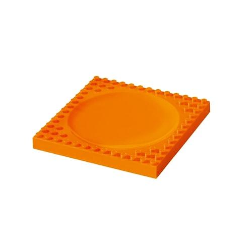 Tallrik för barn Orange