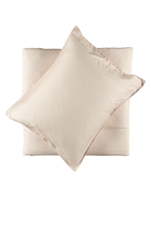 Påslakanset Kvarts Satin 210x150 cm - Ljusrosa