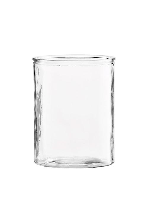 Vas Cylinder Ø 13x15 cm - Klar