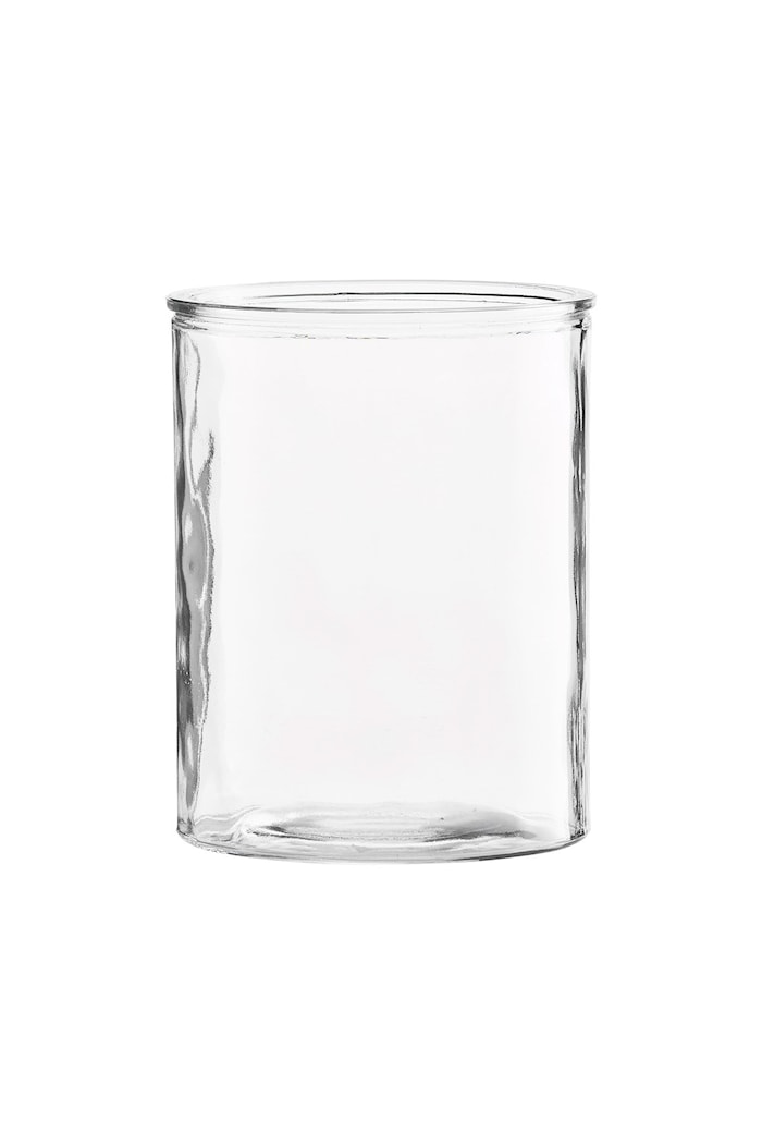 Vase Cylinder Ø 13x15 cm - Klar