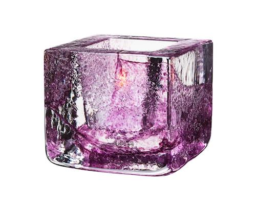 Brick Lysestage Violet Ø 8,5 cm