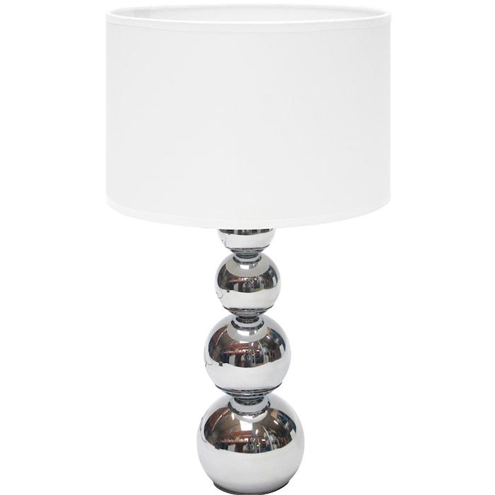 Bordlampe touch & dim L Hvit