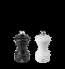 Bistro Duo Mat Sort/Mat Hvid 10 cm