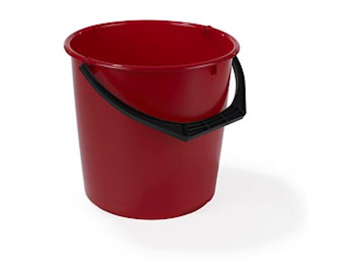 Muoviämpäri 10L Punainen