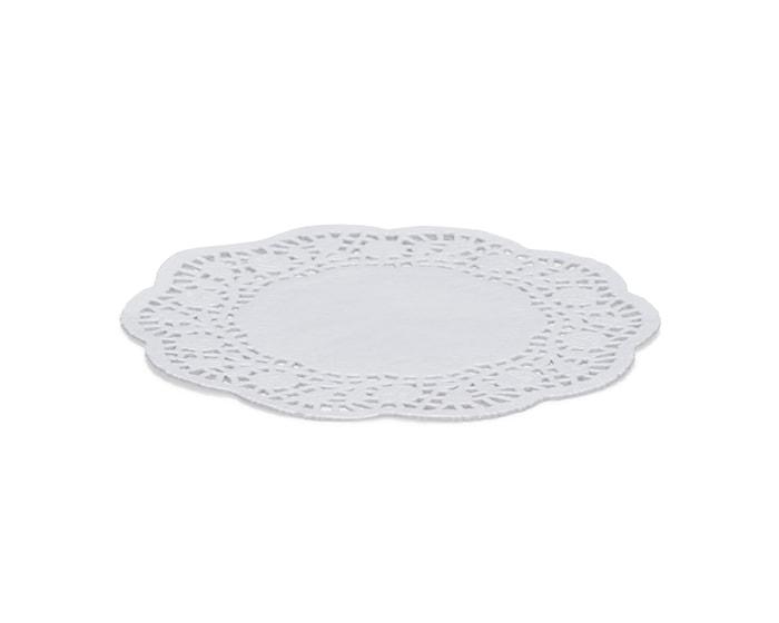 Kakeserviett Hvit, Ø 20 cm