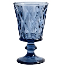 DIAMOND Vitvinsglas Blå