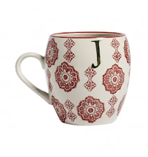 LETTER cup, J