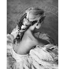 Wild child fotoprint - 100x70