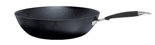 Wokpanna Gjutjärn med Skaft, 32 cm
