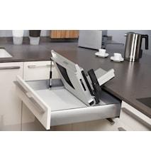 UNA 9 Innbyggbar Påleggsmaskin med Taggete Knivblad