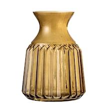 Vas Glas Brun Ø11x14,5cm