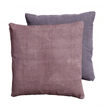CANVAS cushion cover ash rose/ash purple