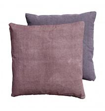 CANVAS cushion cover ash rose/ash purple