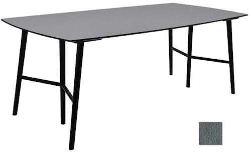 Perstorp 150 matbord - Virrvarr/svart