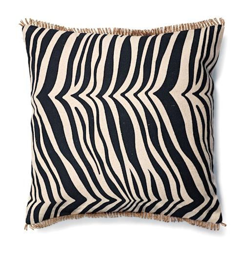Kudde Zebra - Svart