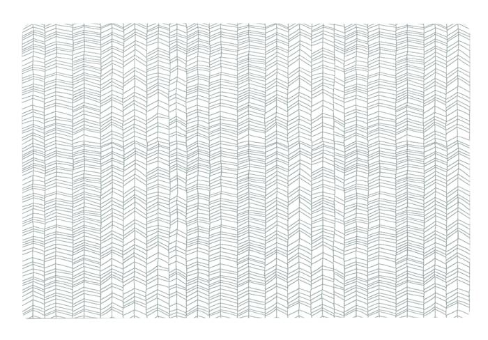 Zentangle Tablett Grå/Vit 44x28,5 cm