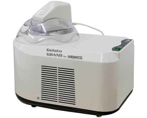 Gelato Grand Iskremmaskin hvit/klar 1,5 liter