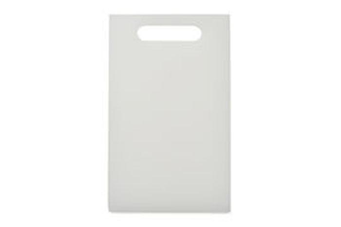 Skjærebrett 24x15cm, hvit