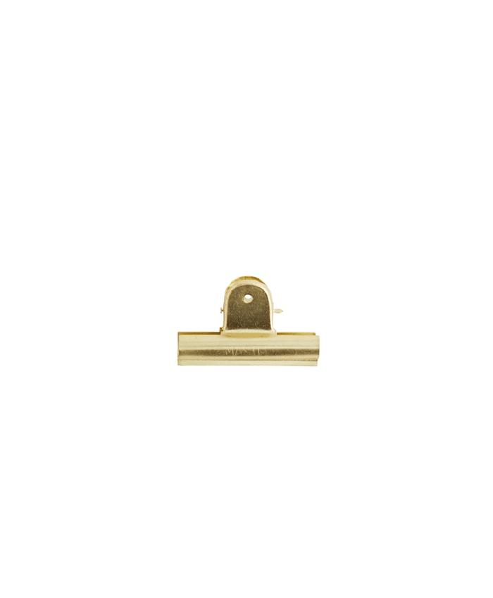 Klämma 7 cm Guld