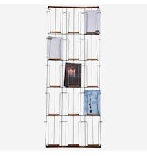 Card rack w/ bamboo