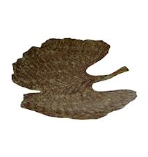 Fat Handmålad plåt Hårdlackat Mossgrönt 43,5 cm