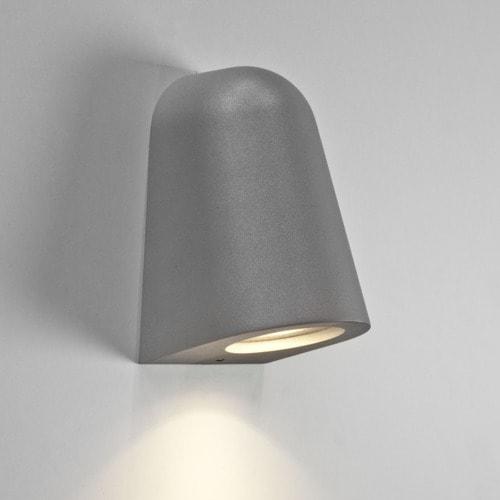 Mast light utomhusbelysning - silver