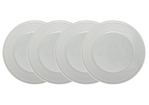Fålhagen Tallrikar, 4-pack, 27 cm, Ljusgrå