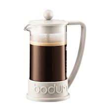 Brazil Kaffebryggare 3 koppar 35 cl Vit