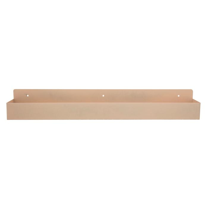 Hylle Metall 70 cm - Brun