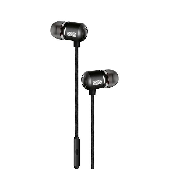 Kuulokkeet In-Ear Musta Metallic