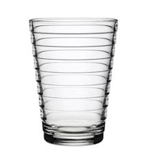 Aino Aalto glas 33 cl klar 2-pack
