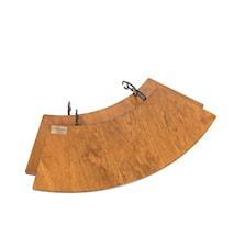 Bord til Bålpande 60cm, sæt af 2 bord
