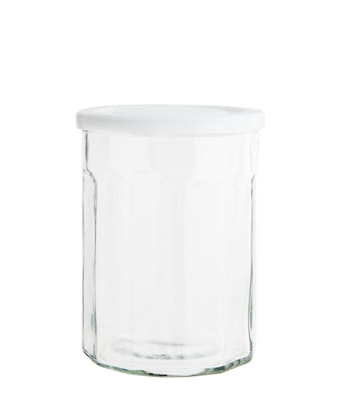 Krus Ø 13 cm - Hvit